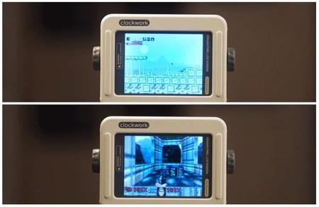 Capturas de pantalla de los juegos incluidos en Gameshell