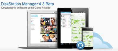 Synology lanza la versión 4.3 Beta de DSM, el sistema operativo de sus NAS