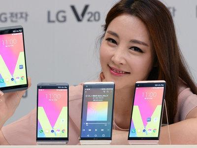 LG alcanza un 20% de cuota de mercado en Estados Unidos gracias a su apuesta por el V20