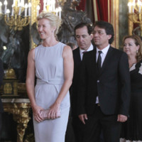 Ana Duato recepcion Felipe VI Letizia