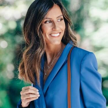 El traje de chaqueta de Ana Boyer y otros tres perfectos tanto para bodas como para ir a la oficina