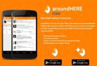 aroundHERE, una app para ver los tweets publicados a tu alrededor