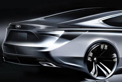 Primer teaser del nuevo Toyota Avalon