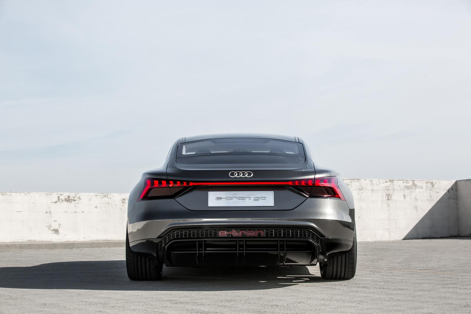 Foto de Audi e-tron GT concept 2018 (45/55)