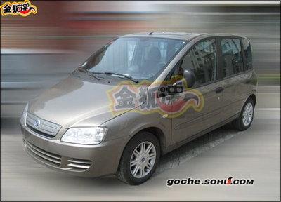 Vuelve el Fiat Múltipla fabricado por la marca china Zotye