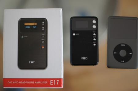 La caja del E17, antes de su unboxing