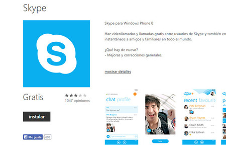 Skype San Valentin Tablet