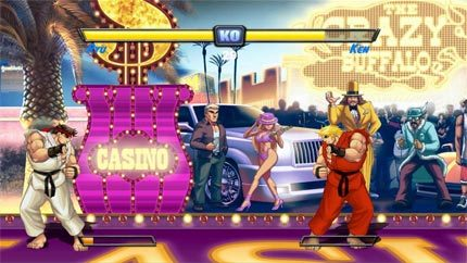 Capturas de pantalla de 'Super Street Fighter II HD Remix'