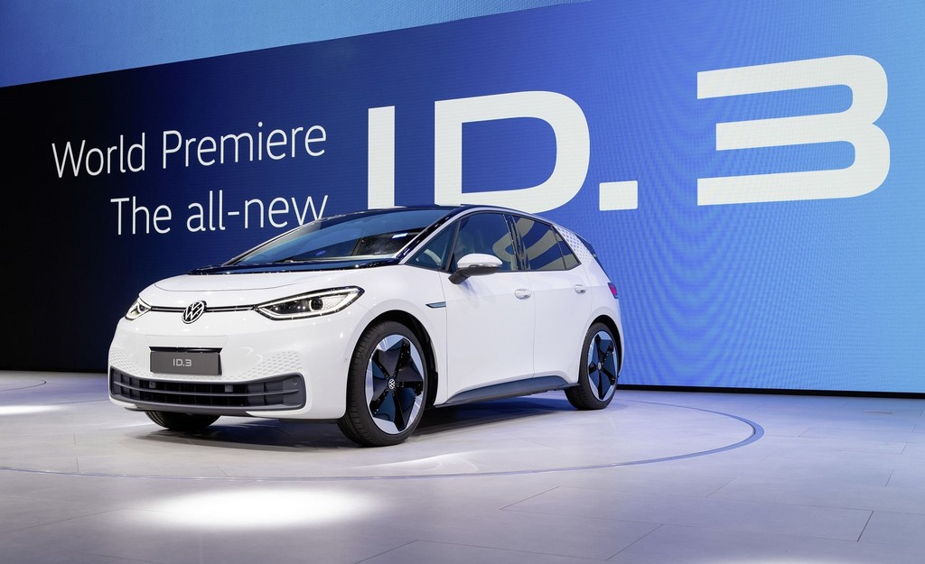 El Volkswagen ID.3 calzará los nuevos neumáticos inteligentes Bridgestone para mejorar su autonomía