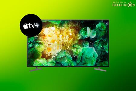 Smart TV 4K Dolby Vision Sony KD-49XH8196: Apple TV+ a máxima calidad con este televisor a precio mínimo de 579 euros en Amazon