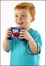 Cámara digital y MP3 para niños