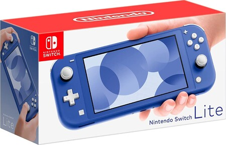 Nuevo Nintendo Switch Lite de color azul en Amazon México