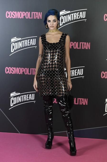 premios cosmopolitan 2017 alfombra roja look estilismo outfit sita abellán