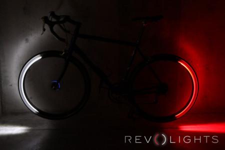 La forma más chula de hacerte visible en la bici: Revolights Eclipse