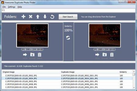 Awesome Duplicate Photo Finder encuentra las imágenes duplicadas en tu equipo