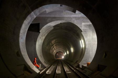 La epopeya del túnel de San Gotardo, el más largo y profundo del mundo, en 27 imágenes