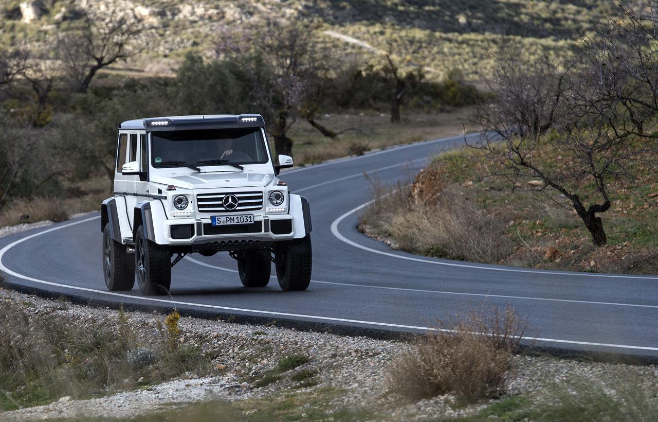 Foto de Mercedes-Benz G 500 4x4², toma de contacto (34/127)