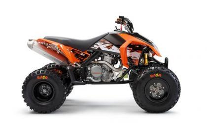 KTM XC lateral