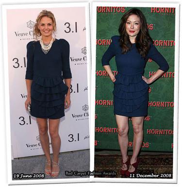 Vestido 3.1 Phillip Lim: ¿Jennifer o Lindsay?