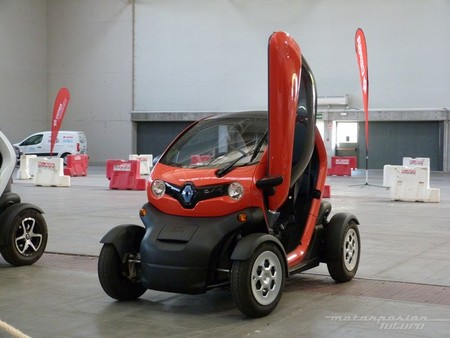 Renault Twizy puertas de tijera