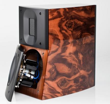 Woofer de las cajas acústicas Raidho D-1