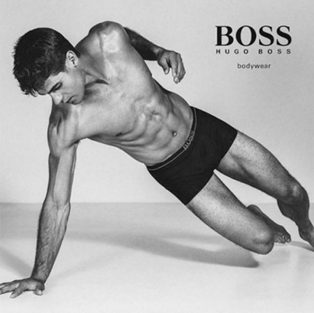 Boss Hugo Boss Body Underwear Campaign 2015 Chad White