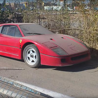 Hallan el Ferrari F40 abandonado por el hijo de Saddam Hussein: un youtuber lo encuentra en unos días y sin salir de casa