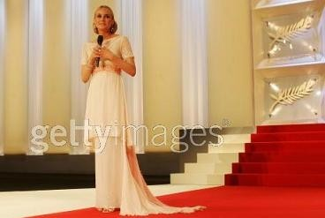 Diane Kruger luce el vestido de Karl Lagerfeld en Cannes