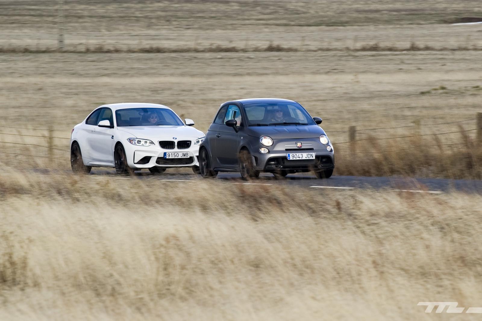 Foto de Abarth 695 Biposto vs BMW M2 (29/44)