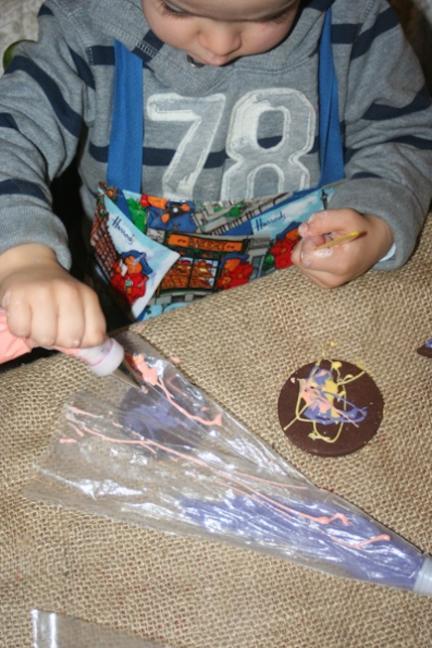 galletas decoradas con niños