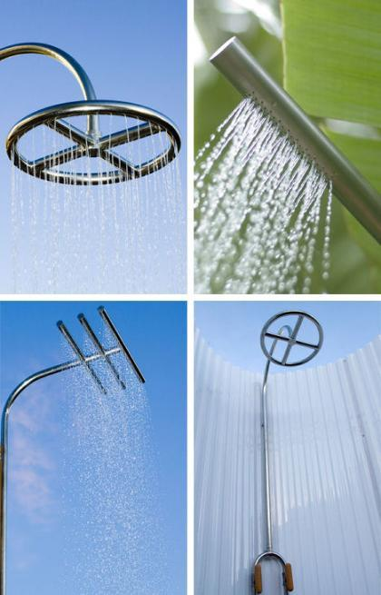 Calazzo, duchas de exterior