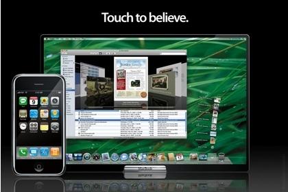 """Otra recreación artística del posible """"MacBook touch""""... que nunca llega"""