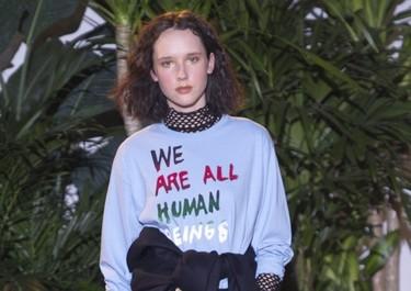 Las pasarelas de moda ¿son una nueva plataforma de reivindicación? Eso parece, tras la New York Fashion Week