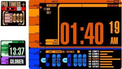 Time y ProTimers, cronómetros trekkies para tu Mac
