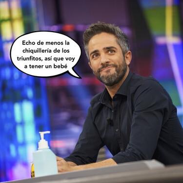 Roberto Leal anuncia en 'El Hormiguero' que su mujer está embarazada