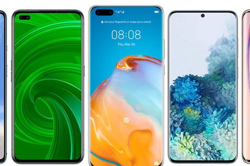 Los mejores móviles 5G de 2020