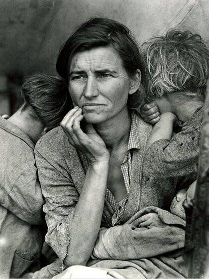Madre Migrante, Dorothea Lange, 1936