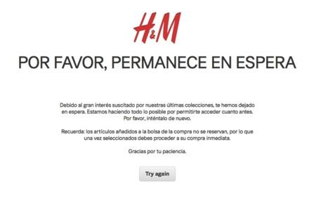 Graves problemas en la web: la venta online de Balmain x H&M parece ser imposible de comprar