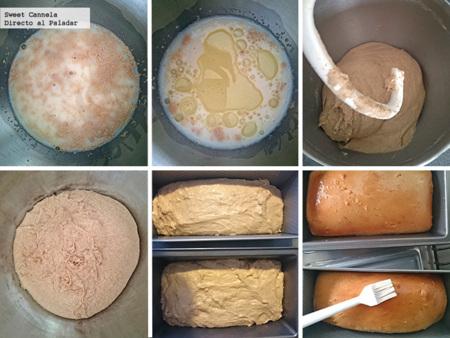 Preparacion Pan De Caja