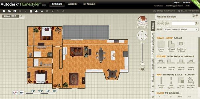 Autodesk Homestyler - 2