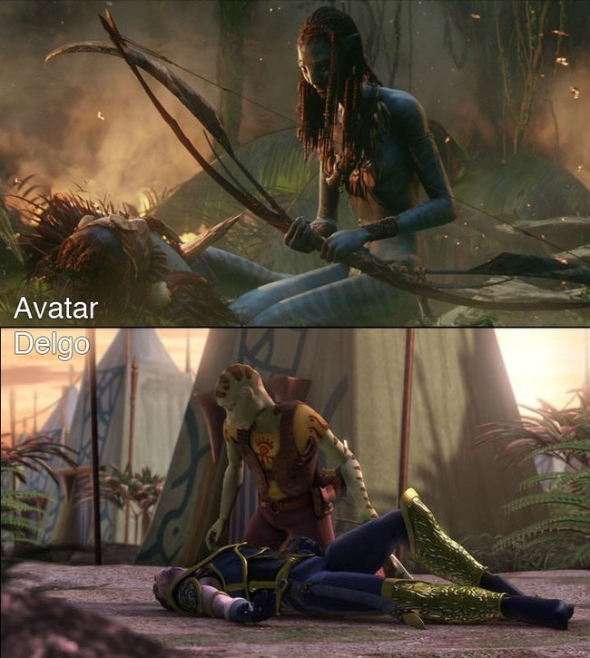Foto de 'Avatar' Vs. 'Delgo' (5/7)