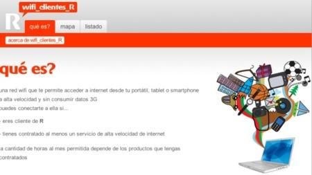 R da conexión WiFi gratuita en zonas públicas a todos sus clientes