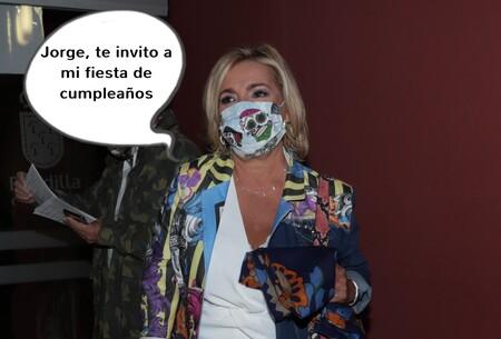 Las inesperadas palabras de Carmen Borrego sobre Jorge Javier Vázquez tras su enfrentamiento con María Teresa Campos