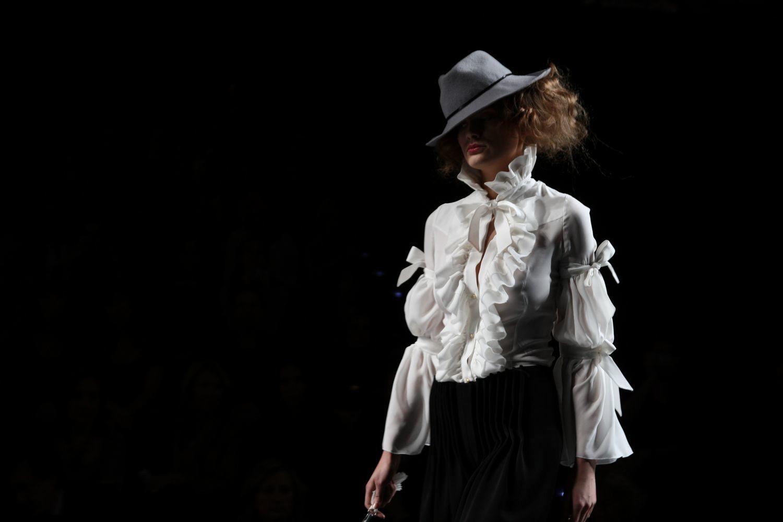 Foto de Alma Aguilar en la Cibeles Madrid Fashion Week Otoño-Invierno 2011/2012 (94/126)
