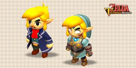 The Legend Of Zelda Triforce Heroes Actualizacion