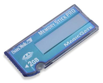 Memory Stick con más capacidad y más velocidad