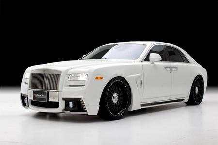 Rolls-Royce Ghost Black Bison por Wald International