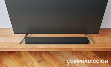 Mejorar el audio de tu tele sólo te costará 97 euros con la barra de sonido 2.0 Sony HT-SF150 en el Electro 3 de El Corte Inglés
