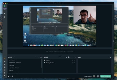 Streamlabs Obs Mac™ Escena Hecha