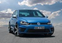 Frankfurt 2013: Volkswagen Golf R – El Golf más fotogénico